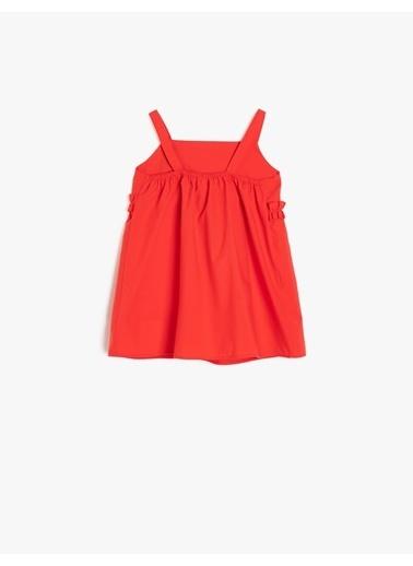 Koton Kids Elbise Kırmızı